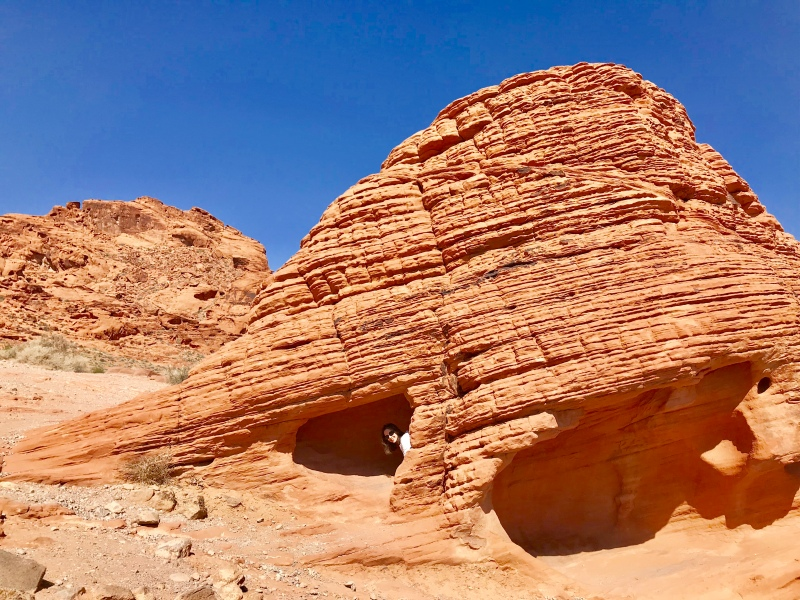 Valley-of-Fire-Beehive-Rock-Formation