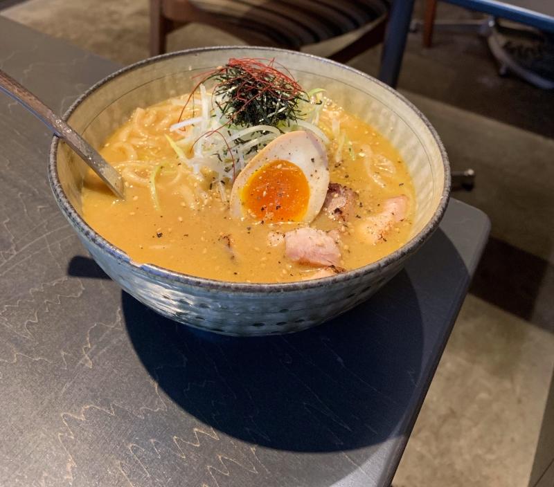 Ramen in Fukagawa Japan