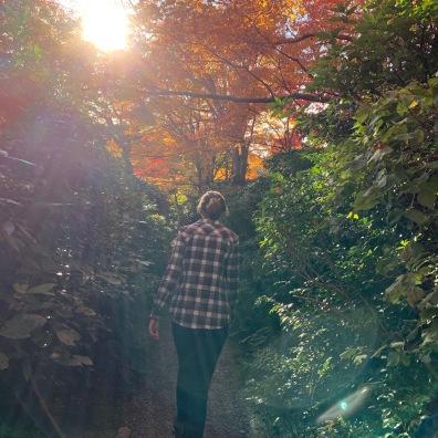 Okochi Sanso Villa gardens path