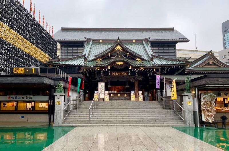 Fukagawa Fudō-dō buddhist temple