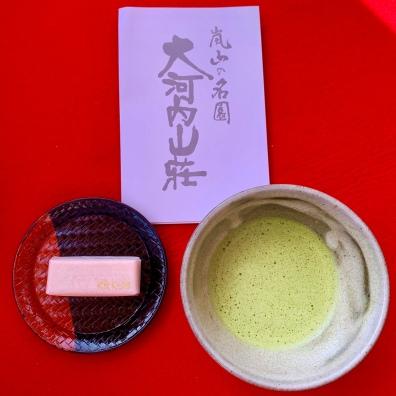 Okochi Sanso Villa Gardens Matcha and Sweet