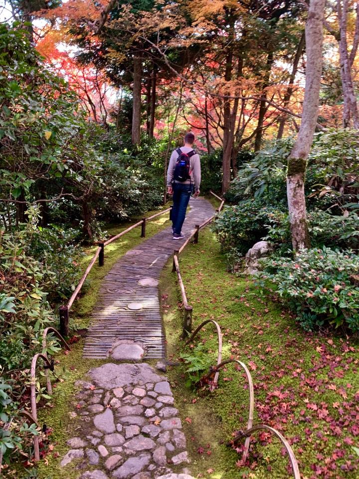 Okochi Sanso Villa gardens path 1