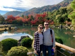 Tenryūji Gardens in Arishiayama, Kyoto, Japan